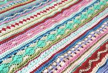 """Crochet Along 2014 / Op dit bord kun je alle vorderingen pinnen van """"jouw"""" deken, gehaakt naar aanleiding van de Crochet Along 2014 / by Jolanda Verschiere"""