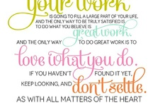 inspiring words / by Kristen Gabes