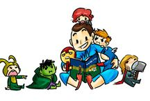 ♪(*'-^)-☆ THE AVENGERS & Loki ♪(*'-^)-☆ / by φ(・ω・♣)☆・゚:* Cherri φ(・ω・♣)☆・゚:*