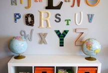 Acosta baby room decor ideas / by Lillawalla Acosta