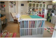 Craft Room storage idea / by Sonia Braddon