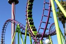 Roller coasters / by Ricardo Ramirez
