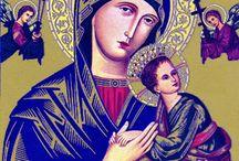 Icons / religious iconography, jesus, hindu, orthodox, russian, catholicism / by Tessa