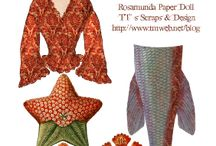 ::::: Paper Dolls ::::: / by BeautyWrap Body Wraps