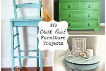 Chalk , Milk & painted furniture / by Nana Susie Clasen