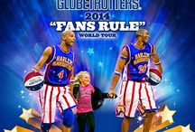 "2014 ""Fans Rule"" Tour / The idea behind The Harlem Globetrotters new World Tour show, ""Fans Rule"" ...is that YOU decide the new rule we add to Globetrotters basketball, a rule that could affect the outcome of the game!  It's easy.  Learn more at http://www.HarlemGlobetrotters.com/rule. / by Harlem Globetrotters"