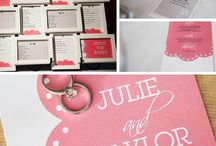 Real Couples' Wedding Stationery / Take a look at the fantastic Wedding Stationery items our Real Couples have created! Then, create your own - your favorite design, your style, your favorite paper, in YOUR colors! Share your own using the #LoveMSW hashtag! / by MagnetStreetWeddings