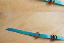 ribbon jewelry / by Linda Hurst