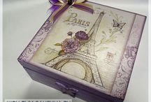 cajas / by rita ruano
