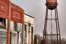 Water tower town / by Rachelle Gonsalves