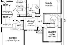 House plans / by Debbie Heinz Richter