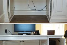 Kids desk nook / by Dawn Abbott