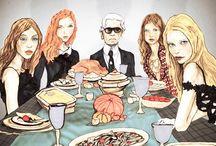 Fashion Greetings / by Vicki Victoire (Gwen Vikkey Miao)@La Mode by GV Miao