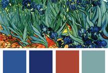 Color Palettes / by Nancy Edmonds Taylor