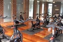 fitness studios / by Mandy Ohman-Zastre