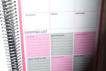 EC Planner Tips / by Kristy Ann