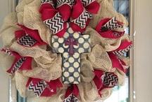 wreaths / by Debbie Mullins
