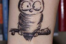 Owl tattoos For Melanie  / by Amelia Neil