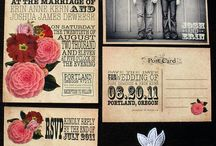 wedding invites / by laura crowe