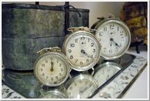 clocks / by Sherry Ruark Mihalovich