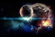 cosmic space / by Sheena Aziz