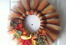 Fall wreaths / by Misty Manges
