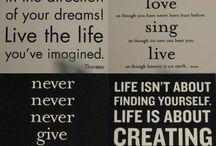 Favorite Quotes / by Ellen Cait