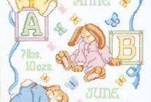 Baby cross stitch / by Leina Awada