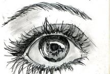sketch, doodle, paint / by Elaine Kalal Stoner