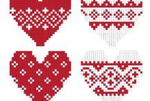 Crochet Tapestry, Hama Beads, Cross Stitch / Vanegumis tarafından