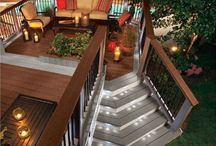 Deck ideas / by Shelley Colontrelle