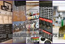 Organize / by Sherry Wall