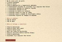 Recetas / by Fent de Mestra