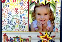 Creative scrapbook layouts / by Candace Soto