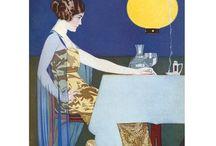 Art nouveau ilustration / My favorite art nouveau ilustrations, most of them about women... / by Andrushka Rolandovna