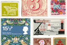 Postage / I love to collect postage stamps because I love pretty mail. Come see more at my blog: http://merissa-cherie.blogspot.com / by Merissa Revestir