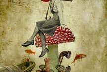 artcollage&illustration three / by katja gohe