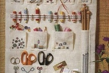 CREATIVE: Storage | Organizing / This board is dedicated to beautiful, smart storage and organizing solutions for creative spaces. #artstudio #craftroom #sewingroom / by Sandra Martin