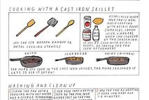 Food: Cast Iron Cooking / by Anastacia Chan
