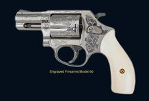 Engraved firearms / by Roger Barbee