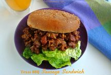 Vegetarian Sandwiches, Burgers & Wraps / by Anne LaLone
