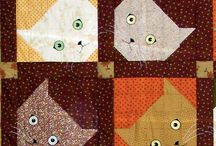 Cat Patchwork Blocks / by Miriam Felton