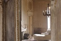 Chateau   / French English country cottage Mediterranean decor / by Reine Sora