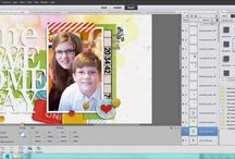 Watch Cheryl Scrap / This board is exclusively for sharing my digital scrapbooking process, including sharing memories and digital techniques. / by Fiddle-Dee-Dee Designs