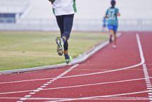 running / by Terri Wilson