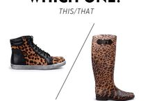 for winter and rain / Leopard. Always in fashion, never lose value! / by Fullah Sugah
