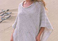 Knit and Crochet Outerwear / Garments like ponchos, jackets, shawls and button-up cardigans. / by Melayla O