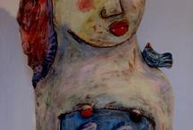 FIGURAL ART  #2 / by Dinah Lamunyon