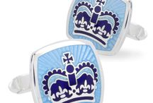 KJD Cufflinks / KJD Jewellers, a family run business founded in 1996, is the British manufacturer of some of  the world's finest cufflinks. Drawing on their expertise as hand enamellers, they are proud  to bring you quality cufflinks and other men's accessories that will stand the test of time.  Combining vibrant and fresh enamels, sterling silver and innovative designs, they have  something for every need - be it making a bold statement, or a refined, discreet assurance  that you are wearing the very best!  / by Manfredi Jewels