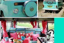 Camper van / by Lavender Rose Cottagey